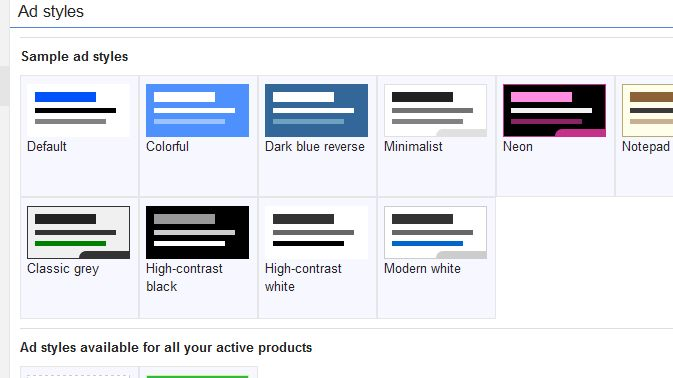 Ajoutez des styles personnalisés aux annonces