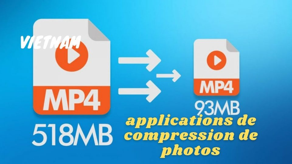 applications de compression de photos