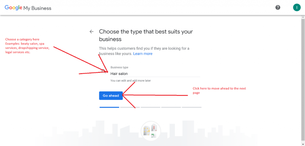 Configuration de Google My Business -