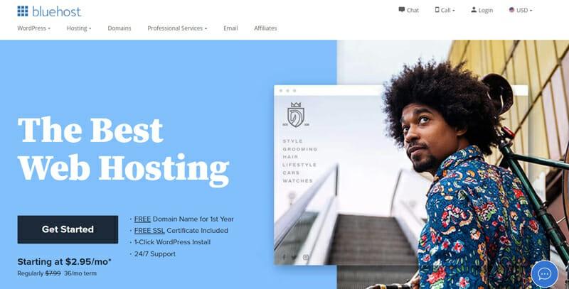 Comment obtenir un nom de domaine gratuit en utilisant Bluehost