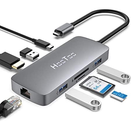 Hub HooToo USB C 8 en 1