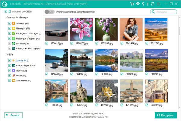 Meilleurs logiciels pour récupérer vos photos perdues sans vous coûter un centime