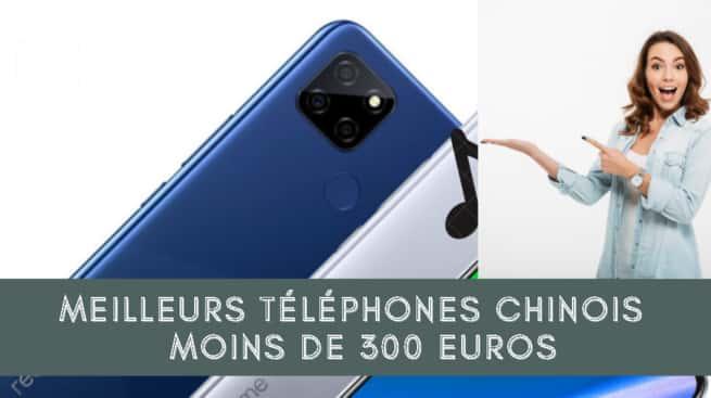 TOP 5 Meilleurs téléphones chinois pour moins de 300 euros - 2021