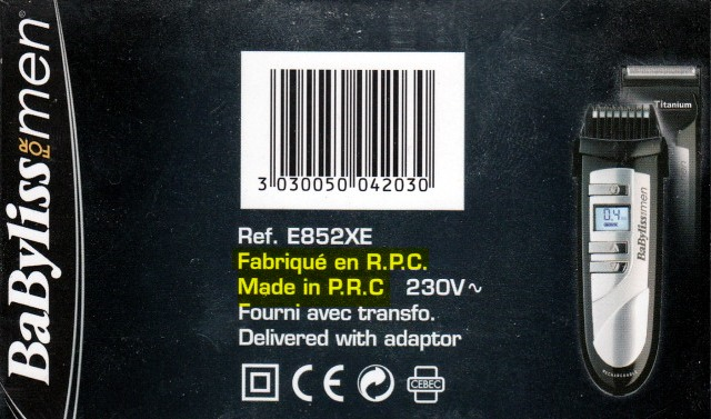 fabriqués en RPC