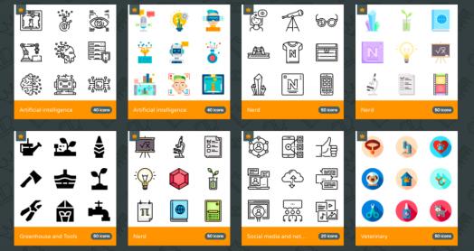 Trouver des icônes gratuites pour une utilisation commerciale