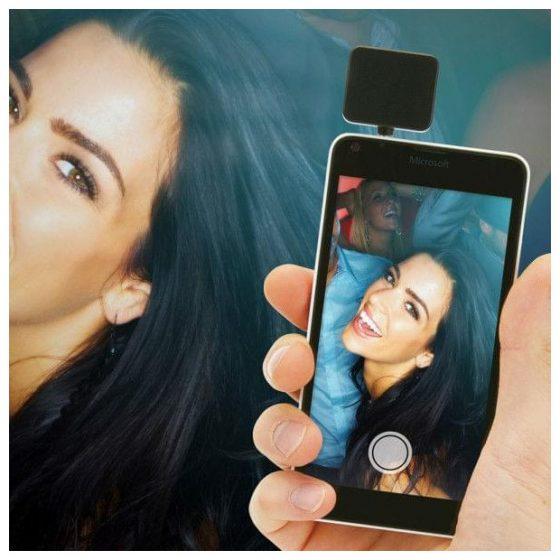 smartphones pour selfies