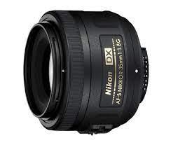 35 mm f1.8 de Nikon