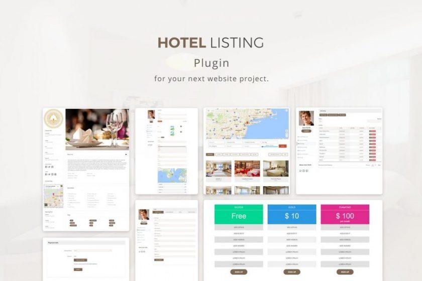 Télécharger gratuitement Plugin Hotel Listing Sur Envato