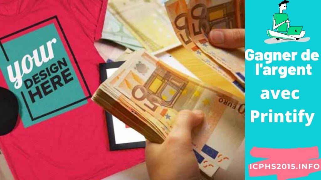 Avis sur Printify : Gagner de l'argent en vendant des produits d'impression à la demande avec Printify