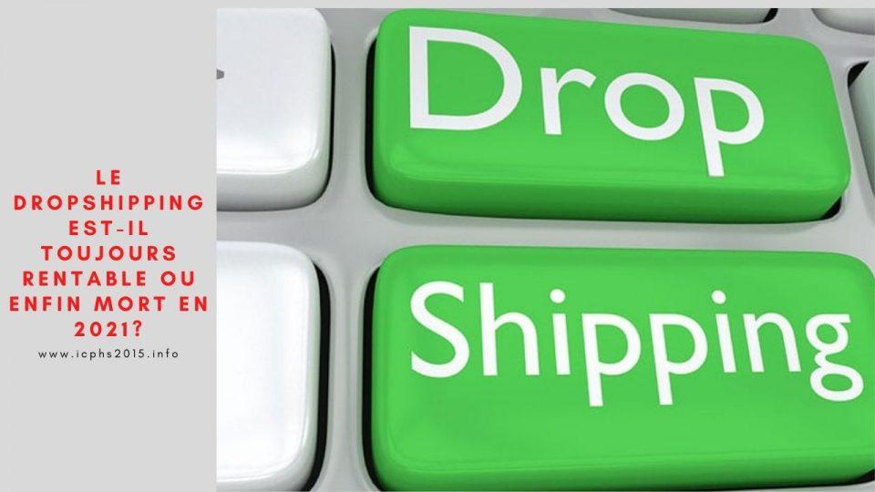 Le dropshipping est-il toujours rentable ou enfin mort en 2021?