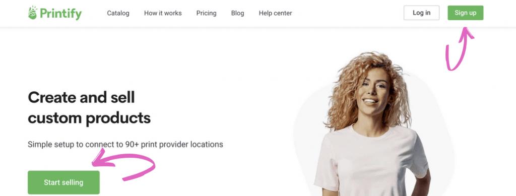 Revue de Printify : Gagner de l'argent en vendant des produits d'impression à la demande