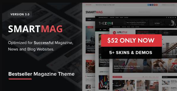 Télécharger gratuitement Smartmag – Thème Magazine WordPress Responsive & Retina