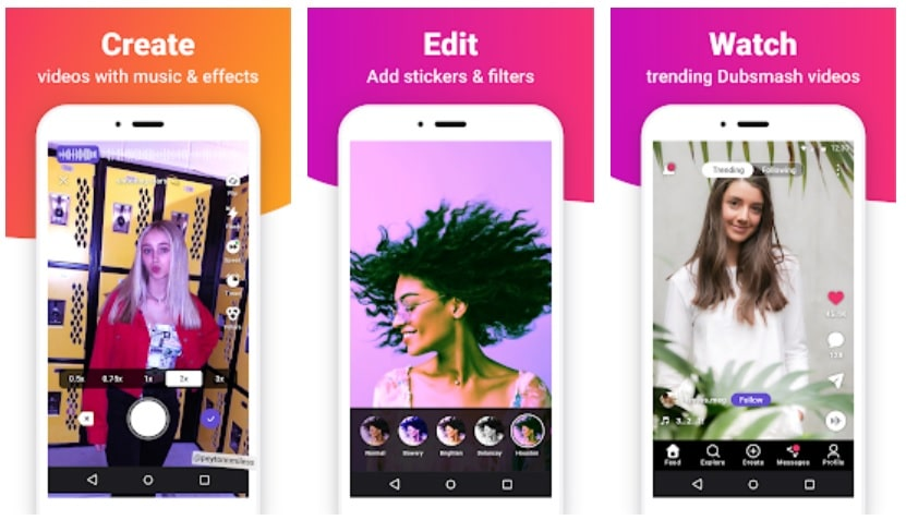 applications vidéo alternatives à TikTok