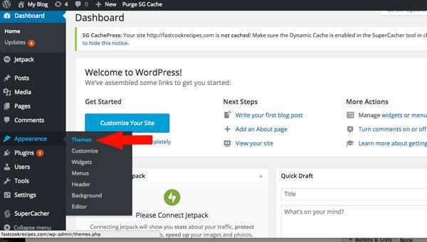 comment ajouter un thème gratuit pour wordpress
