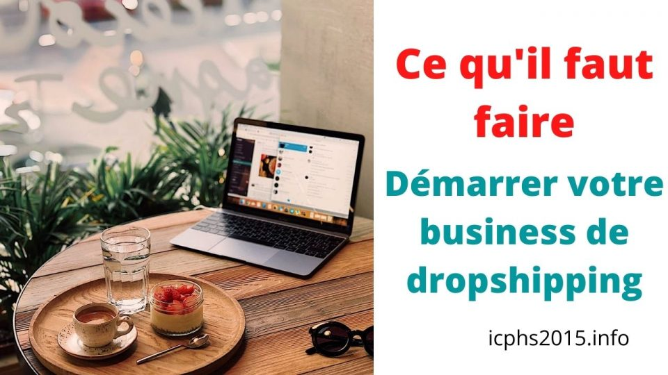 démarrer votre business de dropshipping