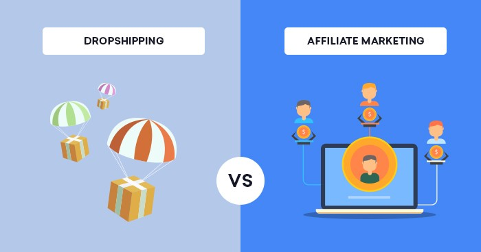 Dropshipping vs Marketing d'affiliation: Lequel est le plus rentable en 2021?