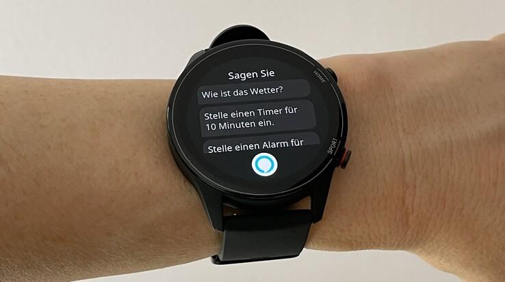 Test Xiaomi Mi Watch : Smartwatch avec contrôle Alexa