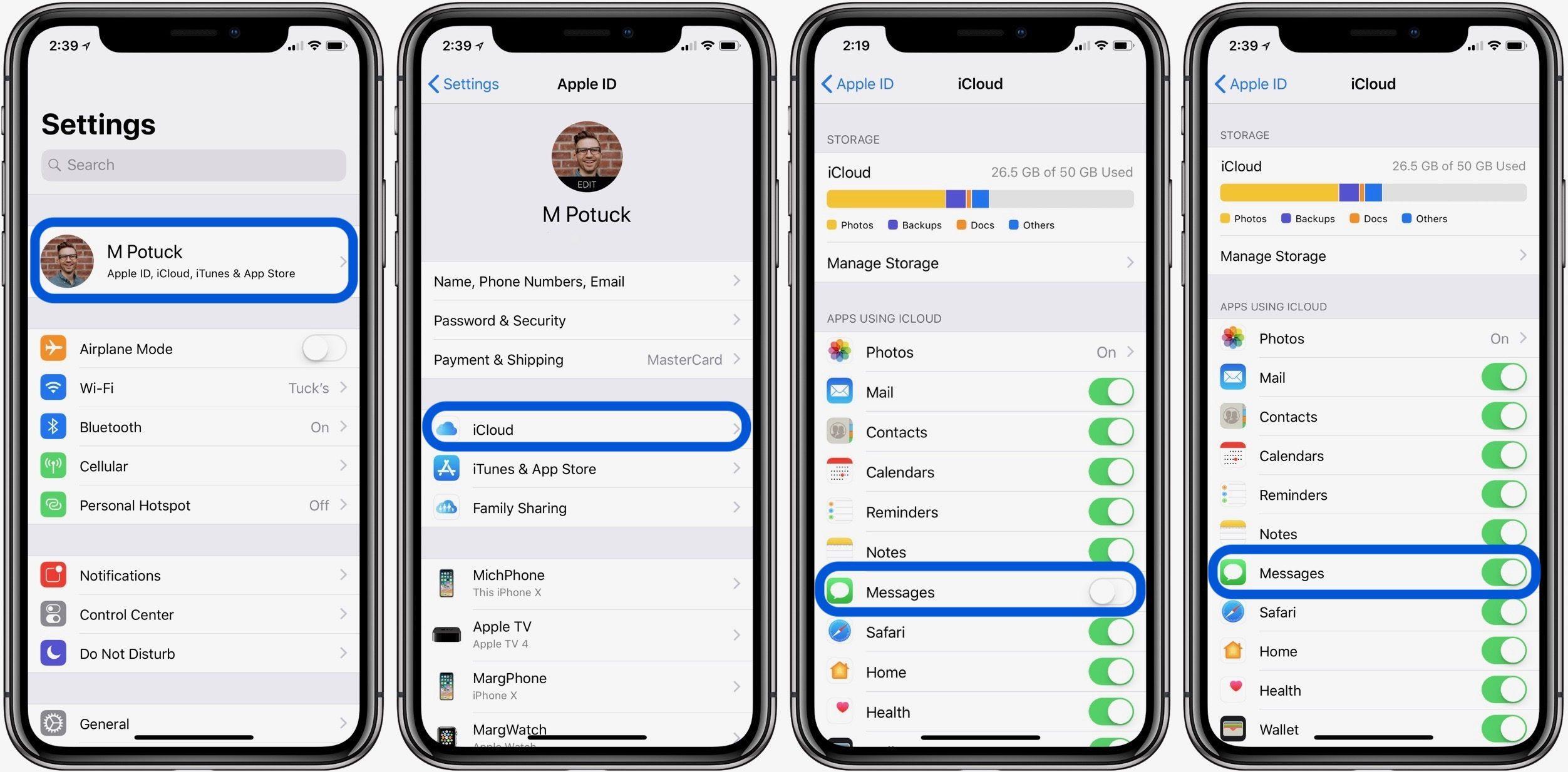 Comment supprimer automatiquement les anciennes conversations sur l'iPhone et l'iPad ?