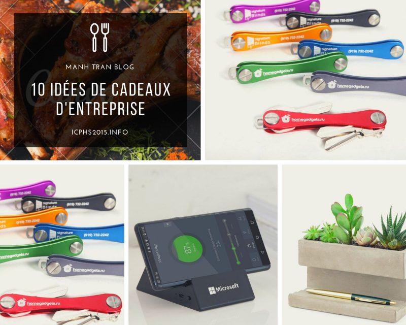 10 idées de cadeaux d'entreprise