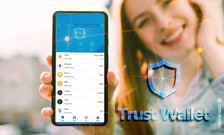 Trust : Portefeuille pour Crypto monnaie & Bitcoin