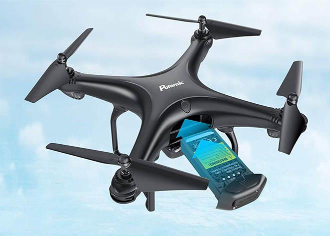 Potensic D58 FPV Le meilleur drone de moins de 200 euros pour les adultes