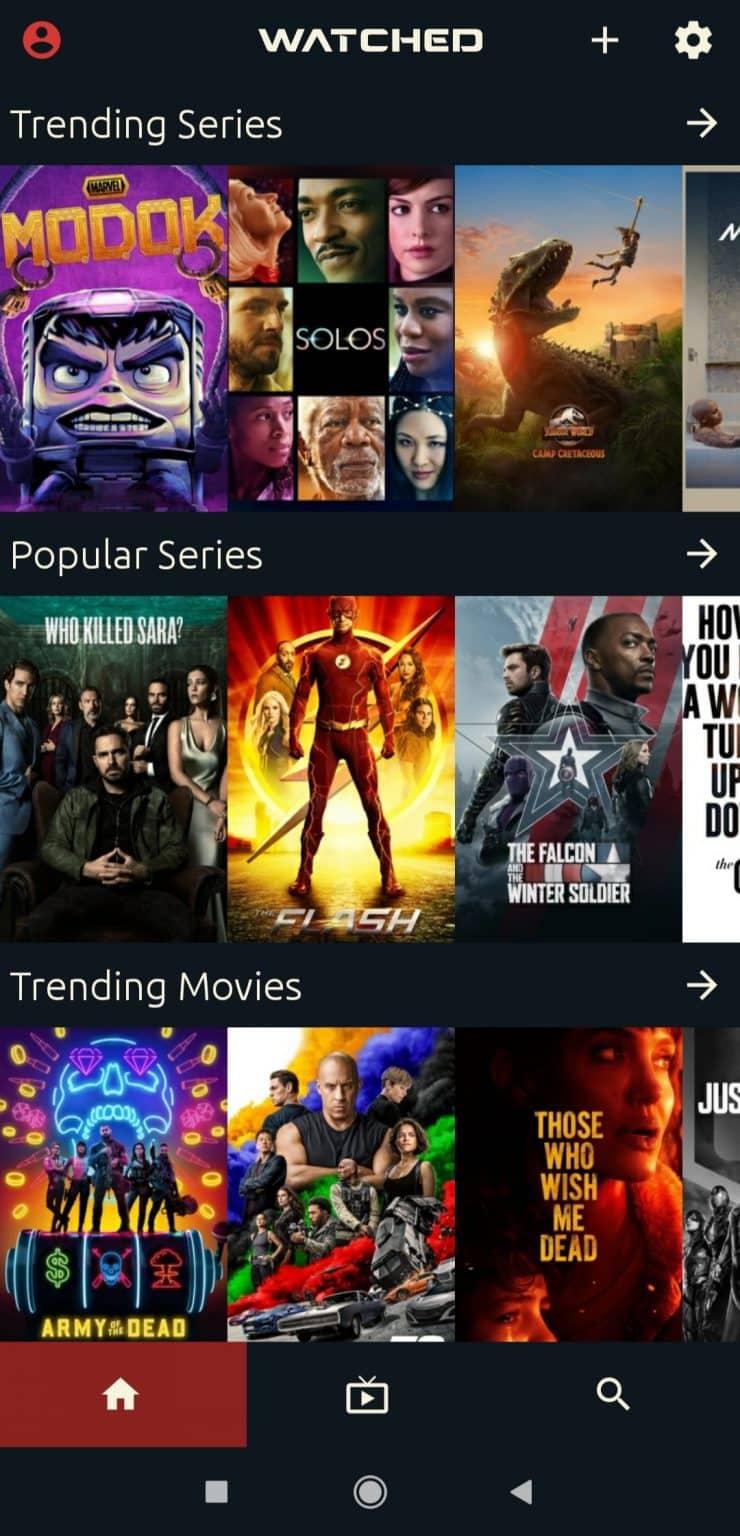 streamer du contenu Netflix gratuit sur Watched