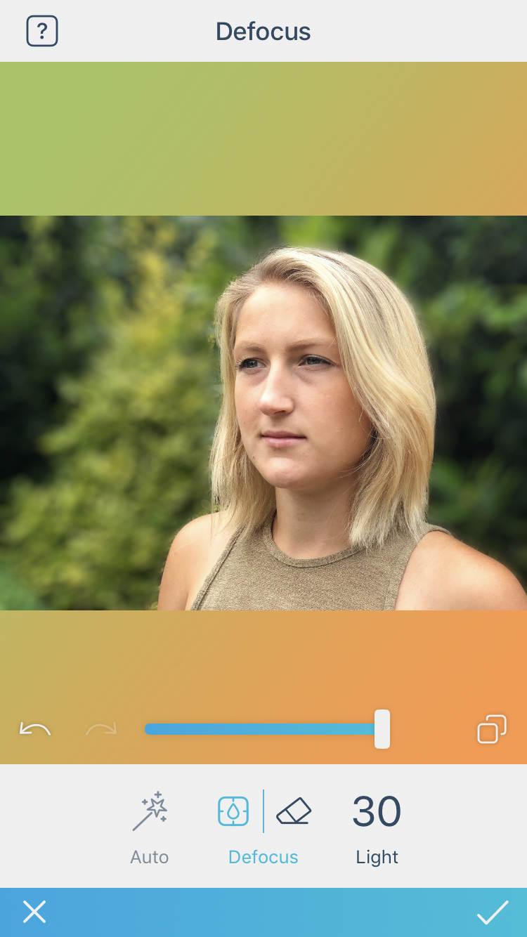 Blur Photo Editor est une nouvelle application de portrait pour rendre l'arrière-plan flou