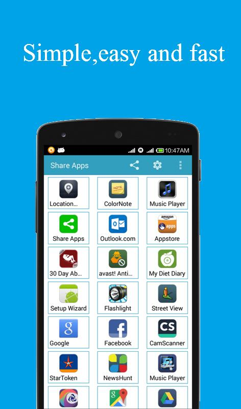 Application Share Apps - APK Transfer