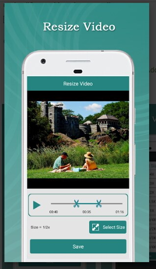 Application Video Compress pour android