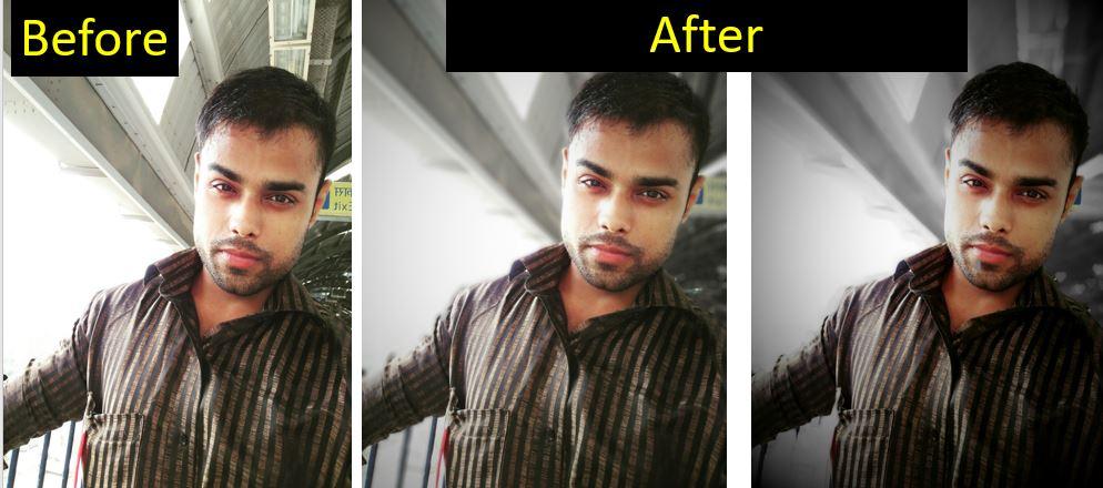 Application de caméra de portrait AfterFocus