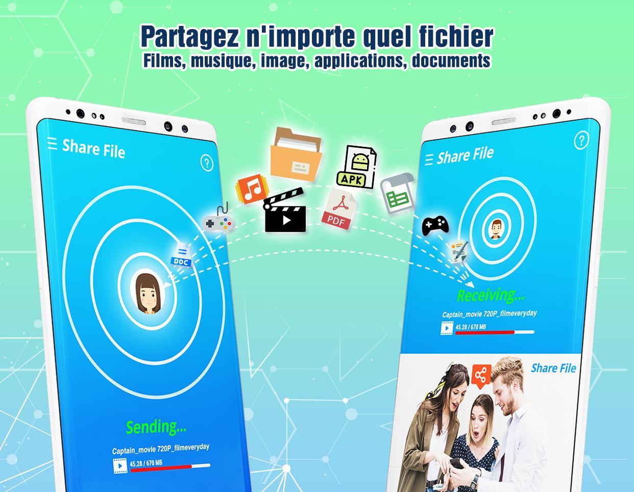 Apps pour partager des apk pour Android