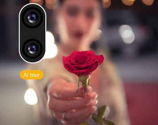 Les meilleures applications de retouche photo pour Android pour un parfait portrait avec des backgrounds flous comme iPhone X