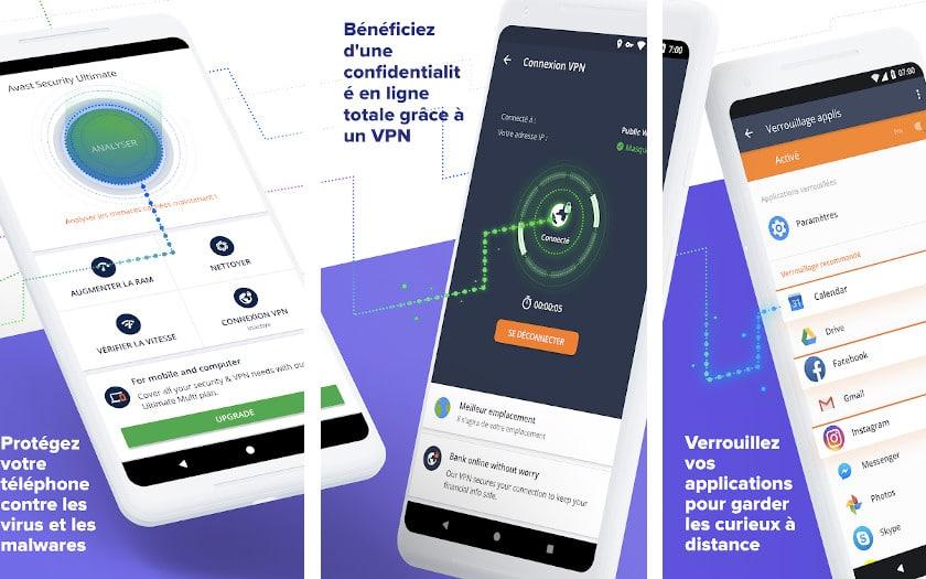 Avast Antivirus - Sécurité mobile et nettoyeur de virus