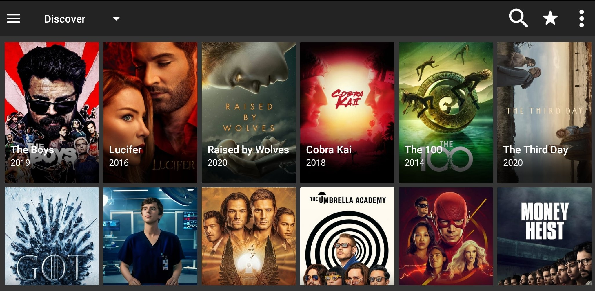 FilmPlus est une application de streaming de films, séries et émissions de télévision gratuits.