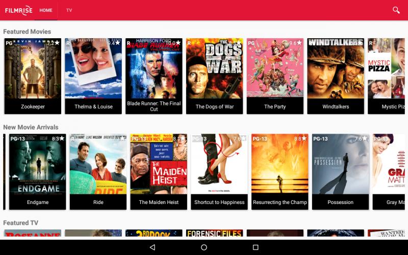 FilmRise, Regardez des films gratuits et des émissions de télévision classiques