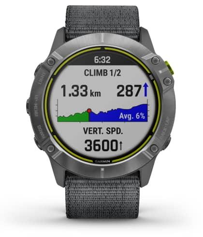 Garmin Enduro - l'une des meilleures montres de course à pied