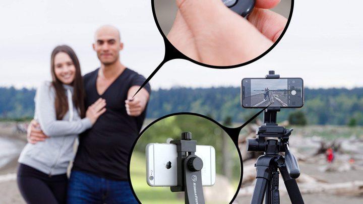 Photographie mobile: Les meilleurs trépieds pour smartphones avec télécommande