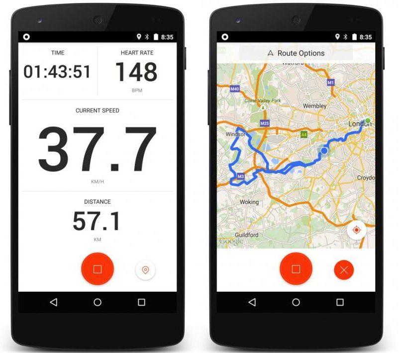 Les meilleures applications pour la pratique du vélopour Android