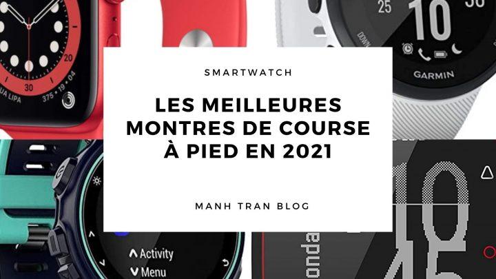 Les meilleures montres de course à pied en 2021