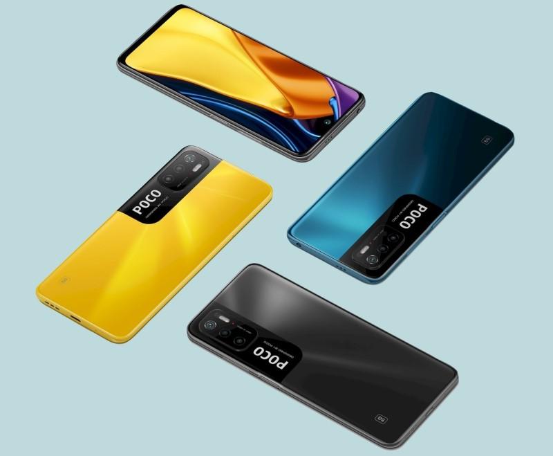 POCO M3 Pro 5G NFC Smartphone dos