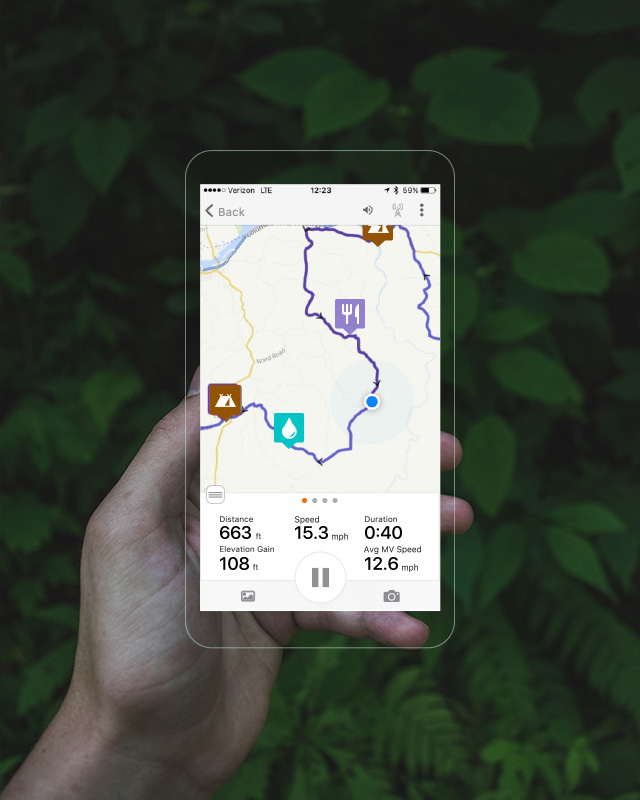 Ride with GPS - Application de navigation et de planification d'itinéraires à vélo