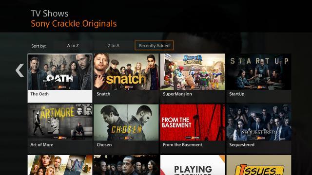 Crackle - TV et films gratuits