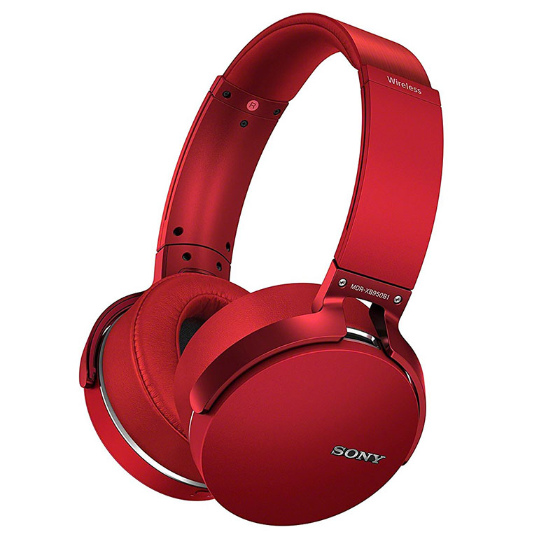 Casque d'écoute sans fil rouge Sony MDR-XB950B1 Bluetooth Extra Bass