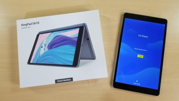 TEST VASTKING KINGPAD SA10 Une superbe tablette polyvalente À PETIT PRIX ( 149 € )