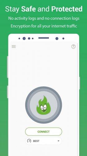 VPN Gratuit - GreenNet Hotspot VPN & Navigateur Privé
