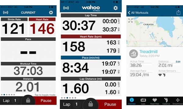 Application de suivi d'entraînement pour le cyclisme