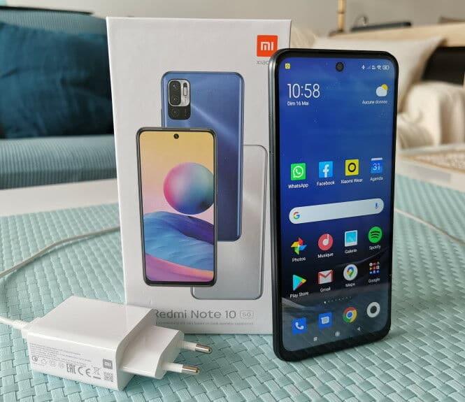 Test du Xiaomi Redmi Note 10 5G Devriez vous acheter Xiaomi Redmi Note 10 5G à 196 € ?