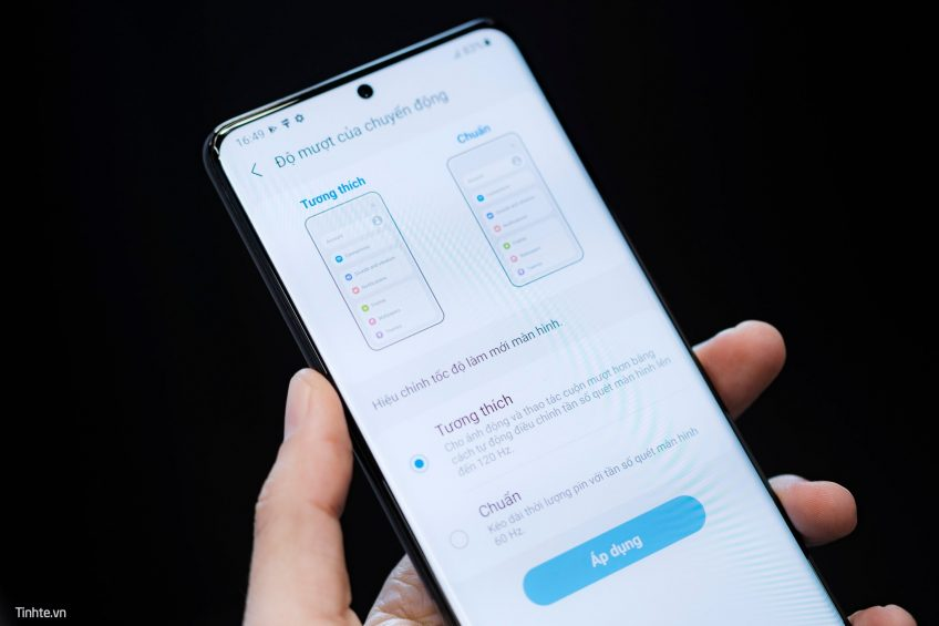 ÉCRAN du Samsung Galaxy S21