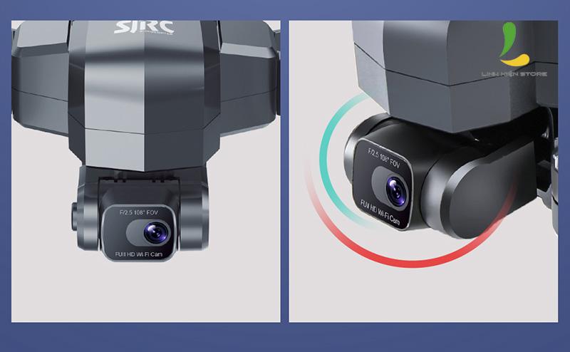 Test SJRC F11 4K Pro - Caméra