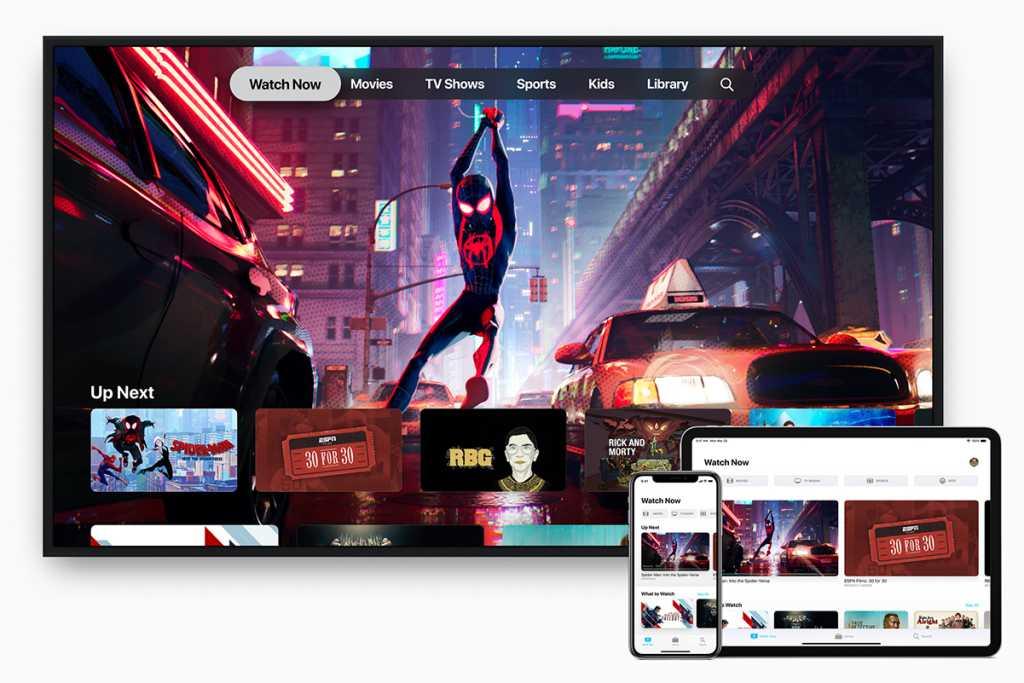 application native Apple TV